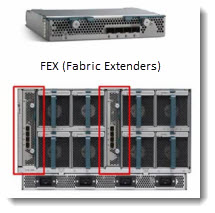 FEX (or IOM) modules