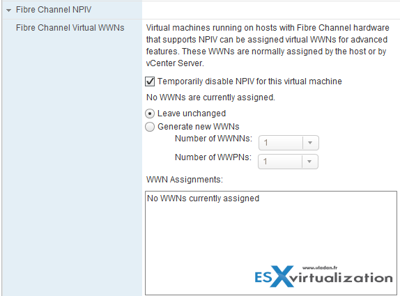 VMs Advanced Settings through vSphere Web client