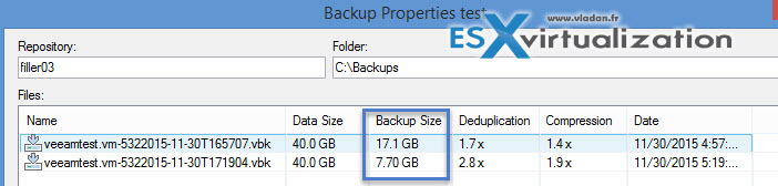 Veeam Backup and Replication File Exclusions