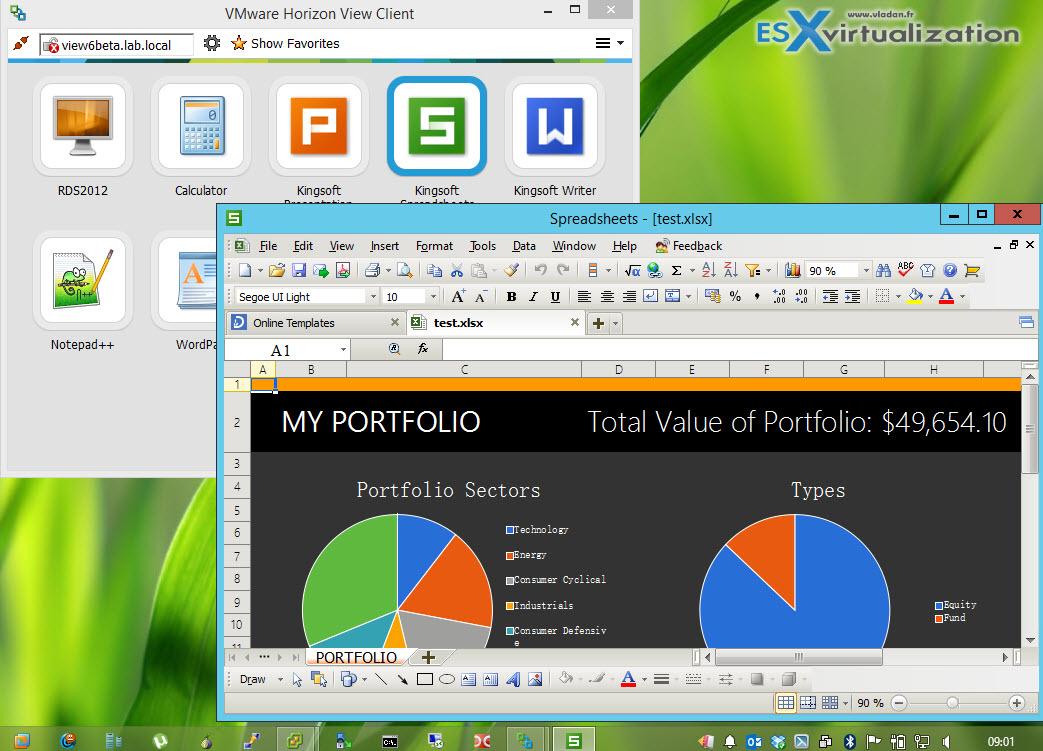 horizon view client windows 8.1