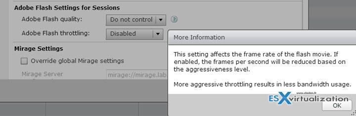 Configure Flash Settings