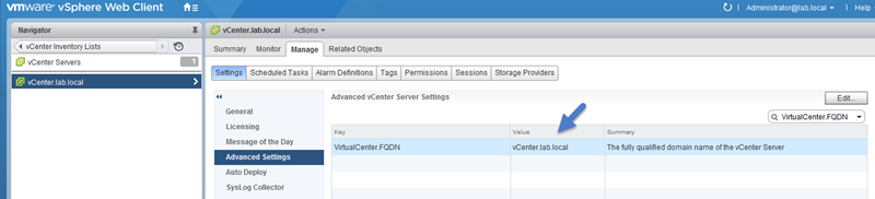 vSphere Replication - requirements before deployment