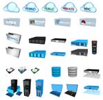 Free Datacenter Stencils by VMturbo