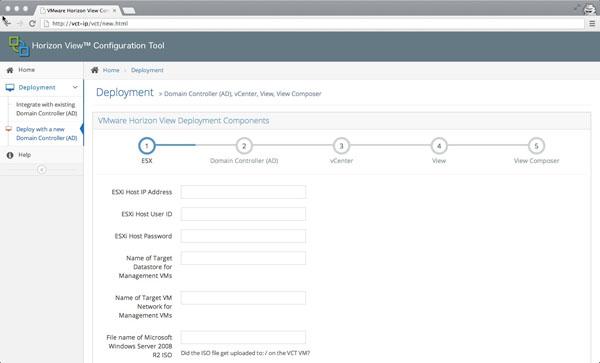 VMware Horizon View Configuration Tool