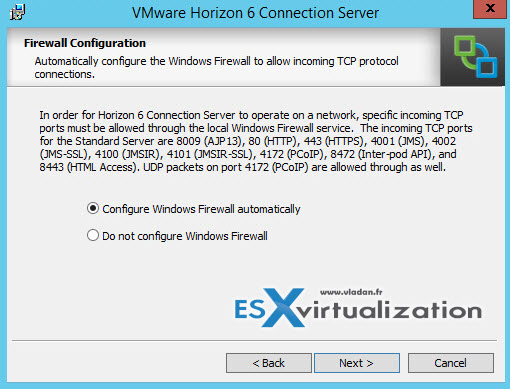 VCP6-DTM Study Guide - Install VMware Horizon View connection server