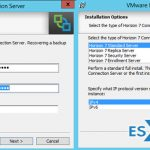VMware Horizon 7 Installation and configuration