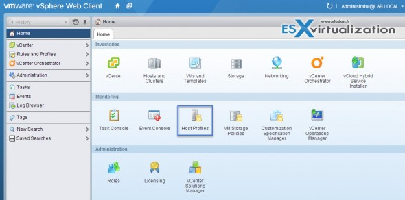 How to reset root password ESXi