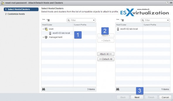How to reset ESXi root pasword