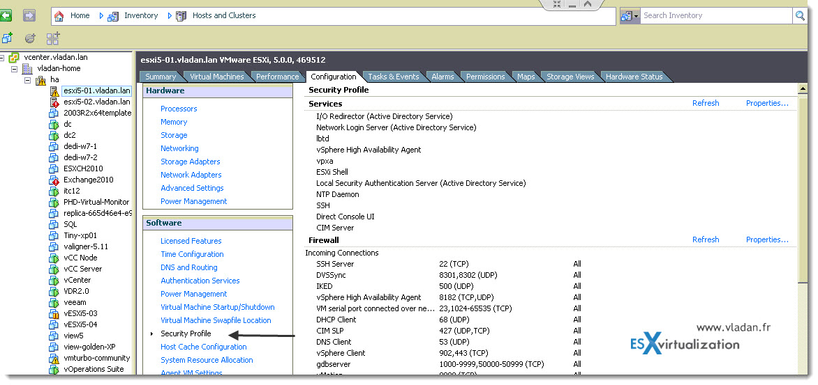 How-to activate SSH in ESXi | ESX Virtualization