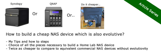 How to build a low cost NAS for VMware Lab – introduction