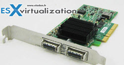 Infiniband PCI-E 4X DDR Dual Port Storage Host Channel Adapter