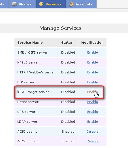 iscsi-enable