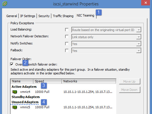 ISCSI adapter Starwind