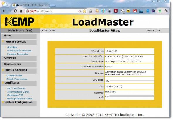 LoadMaster VLM from Kemp Technologies