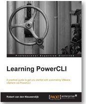 learning powercli front Books