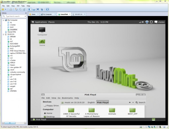 How to Install Linux Mint in VMware Workstation 8