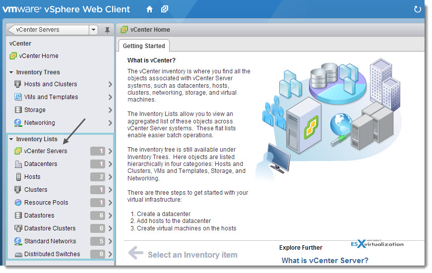 How to find objects in vSphere Web client - the fastest way