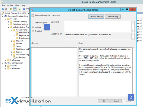 How To Disable Lock Screen in Windows | ESX Virtualization