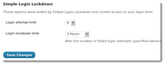 login lockdown WordPress Security Tips
