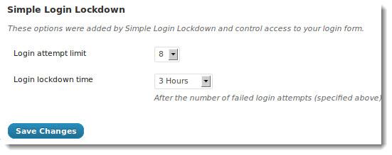 Login Lockdown WordPress Plugin