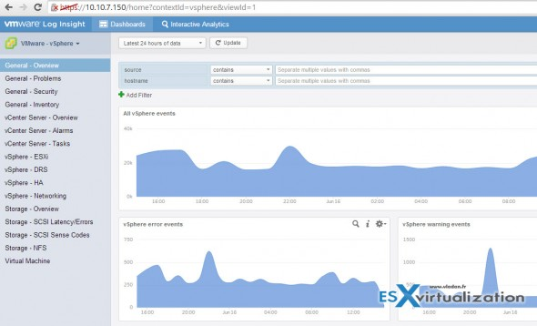 vRealize Log Insight