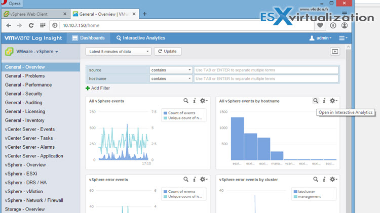 vRealize Log Insight 3.0