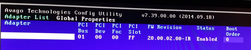How-to Flash Dell Perc H310 with IT Firmware To Change Queue Depth