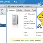 VMware ESXi Command List – Maintenance