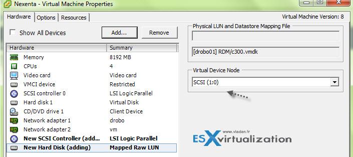 Homelab Nexenta on ESXi - as a VM | ESX Virtualization