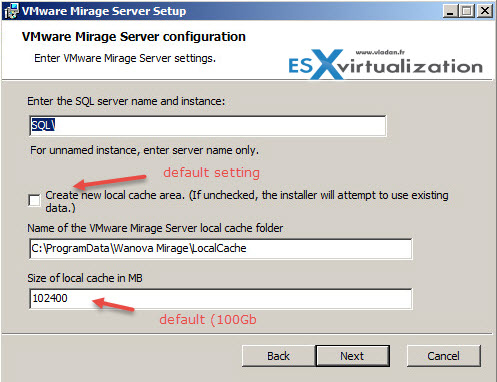 VMware Mirage Server