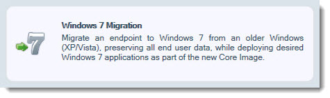 VMware Mirage - Migration XP to Windows 7
