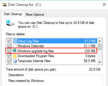 Windows 10 Cleanup Windows.old Directory After Upgrade