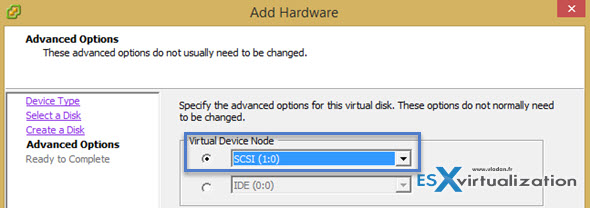 How-to safely change from LSI Logic SAS to VMware Paravirtual