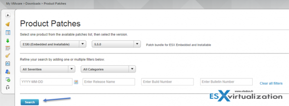 How to patch ESXi Free version
