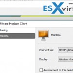 VCP6-DTM Objective 4.4 – Troubleshoot PCoIP Configuration