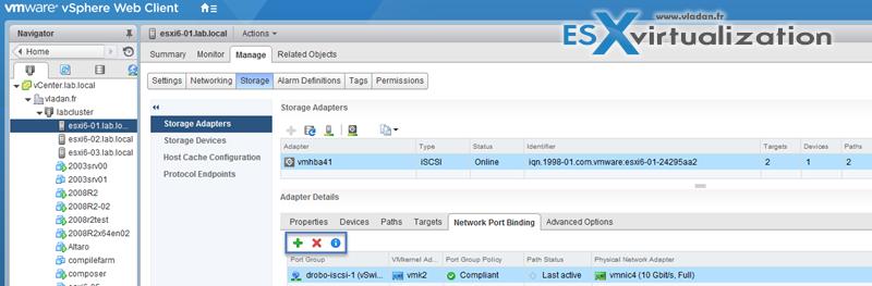 Network Port Binding VMware vSphere