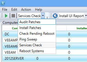 PowerShell Audit and Patch Installation