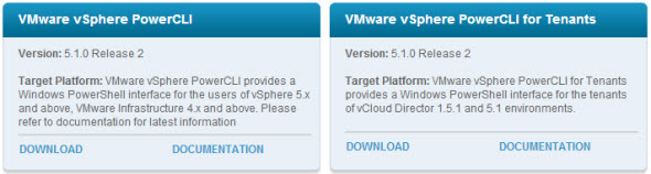 VMware PowerCLI download