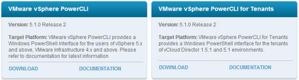 VMware PowerCLI download