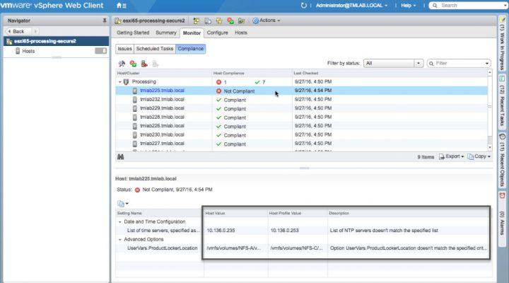 VMware VUM 6.5 - new pre-check