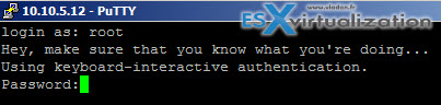 Enabling the pre-login SSH banner in ESXi 5.x
