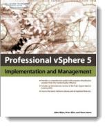 New Book - Professional vSphere 5