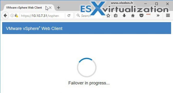 vCenter Server HA (VCSA 6.5) Active - Passive Advanced Config