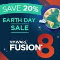 VMware Earth Day Sale - 20% OFF the price !!!