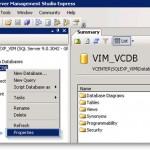 """How to Fix """"Transaction log for database 'VIM_VCDB' is full"""" errors"""