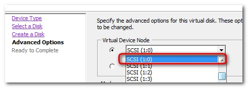 how-to change from LSILogic paralel into PVSCSI - VMware vSphere 4