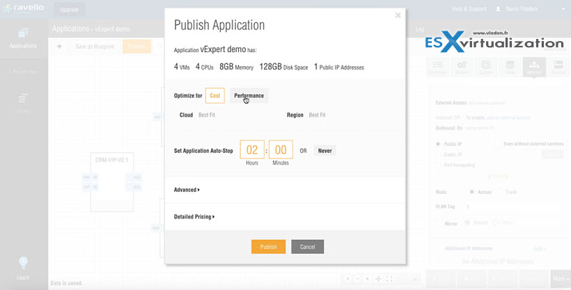 Run Nested ESXi in AWS or Google with RavelloSystems | ESX
