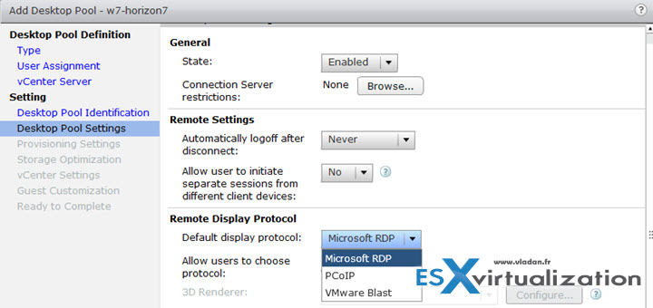 Microsoft RDP as remote desktop protocol access