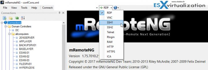 mRemoteNG An advanced remote connection session manager
