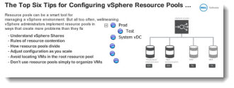 Top 6 Tips for Configuring vSphere Resource Pools
